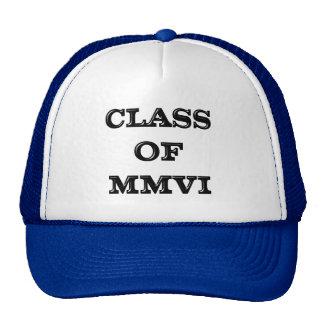 Class of 2006 cap