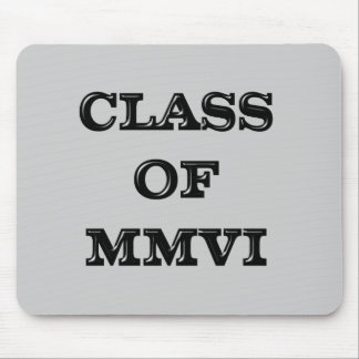 Class of 2006 mouse pad