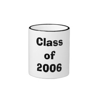 Class of 2006 coffee mugs