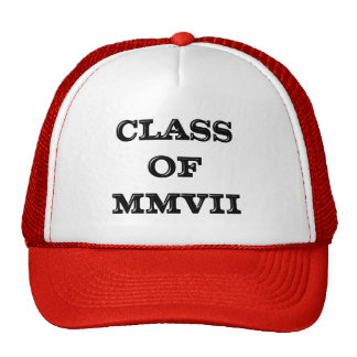 Class of 2007 cap