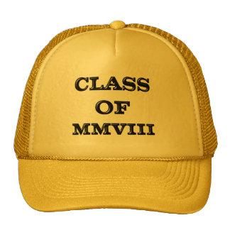 Class of 2008 cap