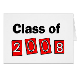 Class of 2008 greeting cards