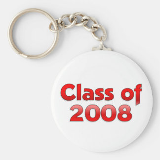 Class of 2008 - Red Keychain