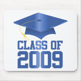 Class of 2009 Blue Mouse Pads