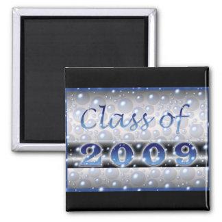 Class of 2009 Bubbles Square Magnet