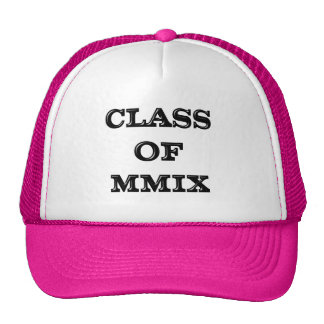 Class of 2009 trucker hat
