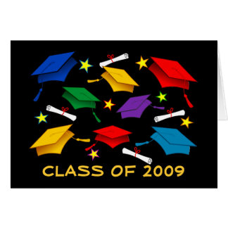 Class of 2009 Graduation - Paper Greeting Card