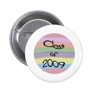Class of 2009 Pastel Twist Round Button I