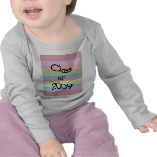 Class of 2009 Pastel Twist Sleeved Shirt Infant