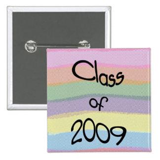 Class of 2009 Pastel Twist Square Button II