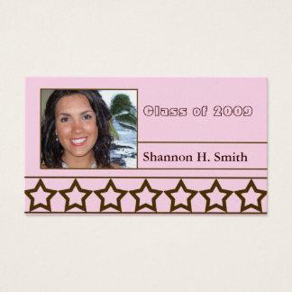 Class of 2009 Senior Cards