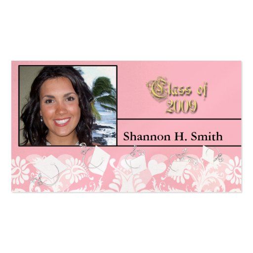 Class of 2009 Senior Cards Business Card Template