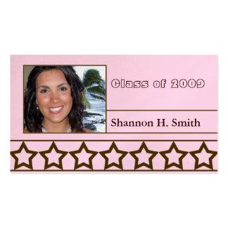 Class of 2009 Senior Cards Business Card