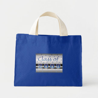 Class of 2009 stars mini tote bag