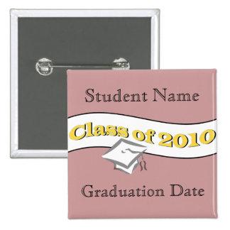 Class of 2010 15 cm square badge