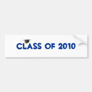 Class of 2010 graduation bumper sticker
