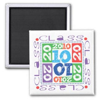Class of 2010 Mosaic Refrigerator Magnets