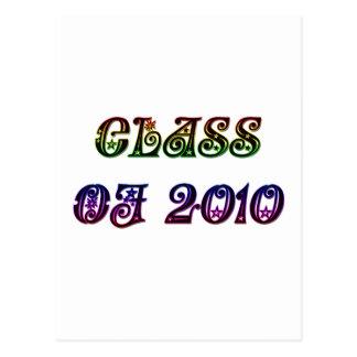 CLASS OF 2010 POSTCARD