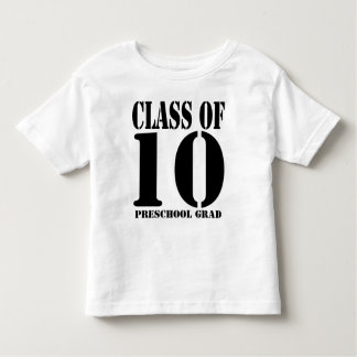 Class of  2010 Preschool Grad T-shirt