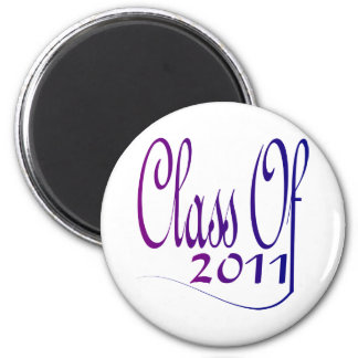 Class Of 2011 6 Cm Round Magnet