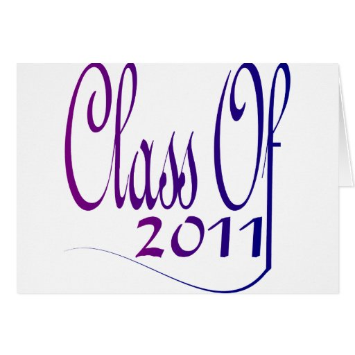 Class Of 2011 Cards