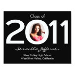Class of 2011 Circle Photo Graduation Announcement