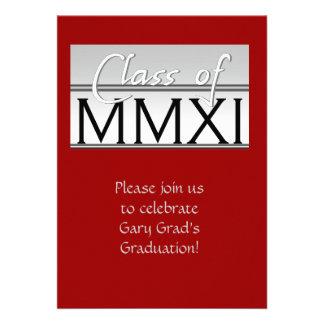 Class of 2011 classy personalized invites