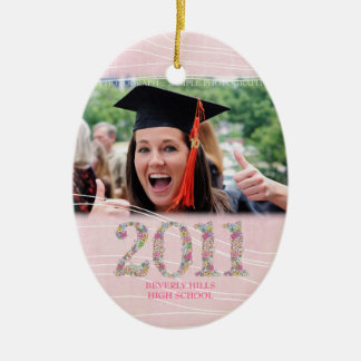 Class of 2011 Girls Senior Photo Pictures Ornament