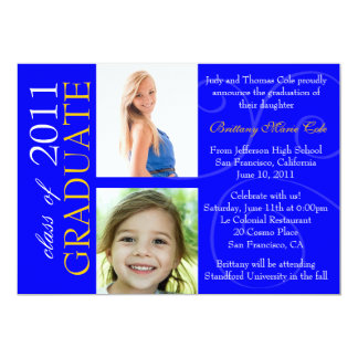 Class of 2011 Graduate Announcement