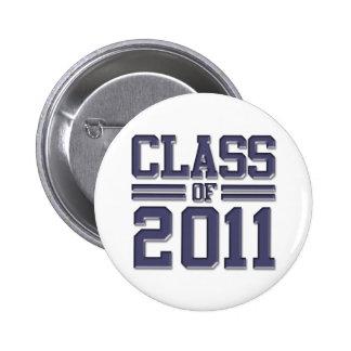 Class of 2011 Graduation 6 Cm Round Badge