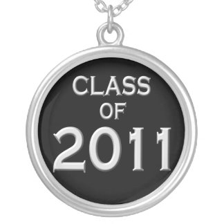 Class of 2011 Graduation Necklace