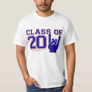 Class of 2011 Graduation red,white and blue T-shirt