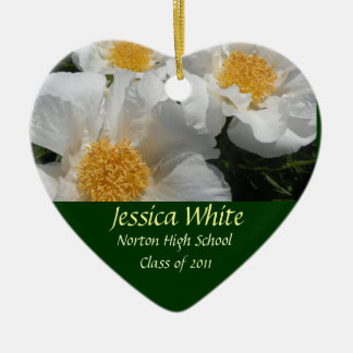 Class of 2011 Heart Keepsake Ceramic Heart Decoration