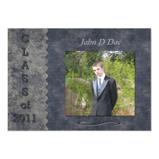 Class Of 2011 5x7 Paper Invitation Card