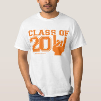 Class Of 2011 Orange and White T-Shirt
