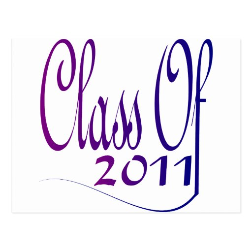 Class Of 2011 Post Cards