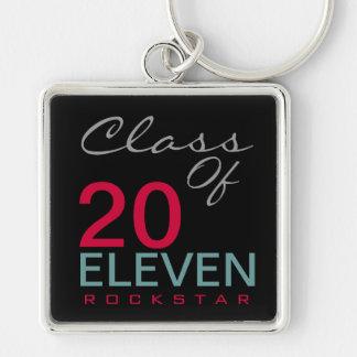 Class of 2011 Rockstar Premium Keychain (Black)