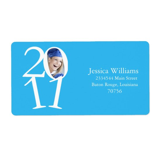 Class of 2011 shipping label