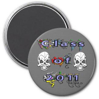 Class of 2011 - Skulls Refrigerator Magnet