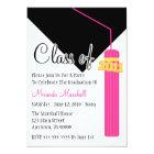 Class Of 2011 Tassel Graduation Invitation (Pink)