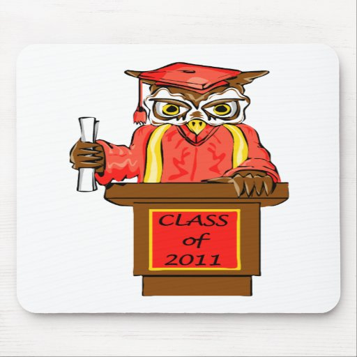 Class of 2011 Wise Owl Graduate Mousepad