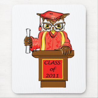 Class of 2011 Wise Owl Graduate Mousepad