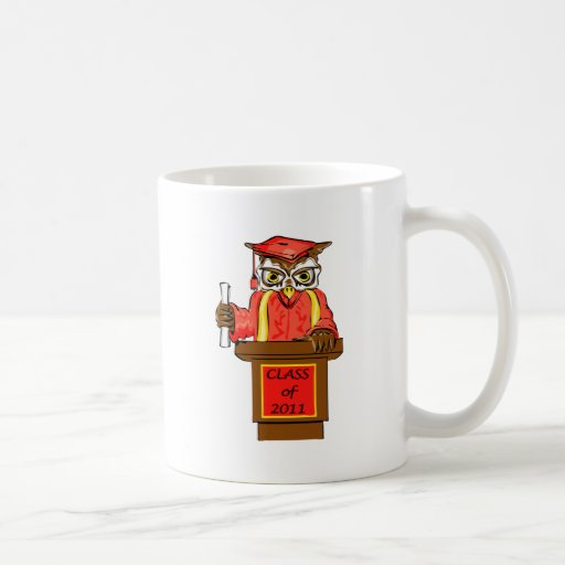 Class of 2011 Wise Owl Graduate Coffee Mug