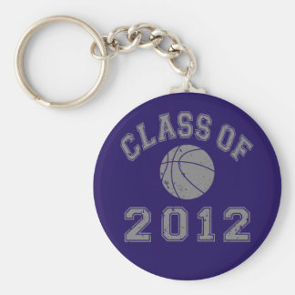 Class Of 2012 Basketball - Grey 2 Keychains