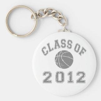 Class Of 2012 Basketball - Grey 2 Keychains