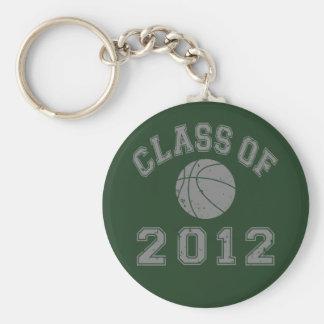 Class Of 2012 Basketball - Grey 2 Keychain