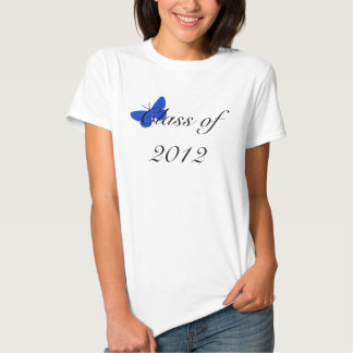 Class of 2012 - Blue and Gold Butterfly Shirt