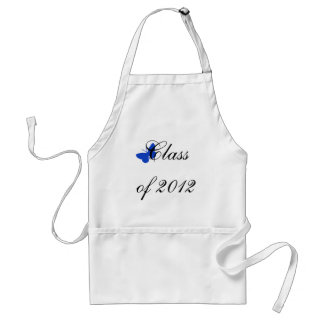 Class of 2012 - Blue Butterfly Apron
