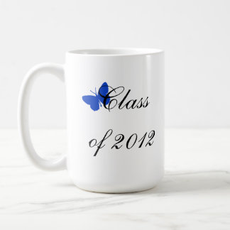 Class of 2012 - Blue Butterfly Coffee Mug