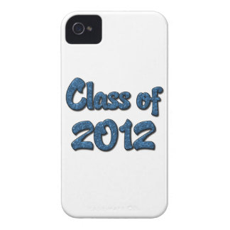 Class of 2012 - Blue iPhone 4 Cover